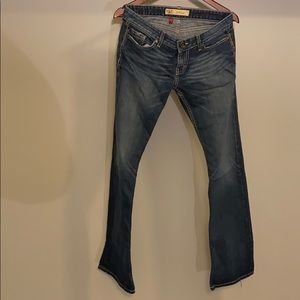 BKE bootcut stretch jeans